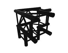 Black Truss A290 nr. 8287 - 500x500x500 mm - 3-fach