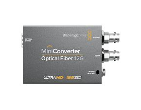 Mini Converter Optical Fiber 12 G - Set 4-tlg